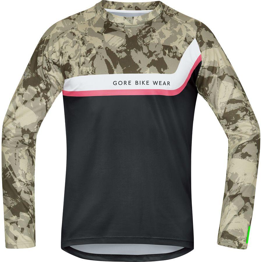 Power Trail Long-Sleeve Jersey - Men's Gore Bike Wear