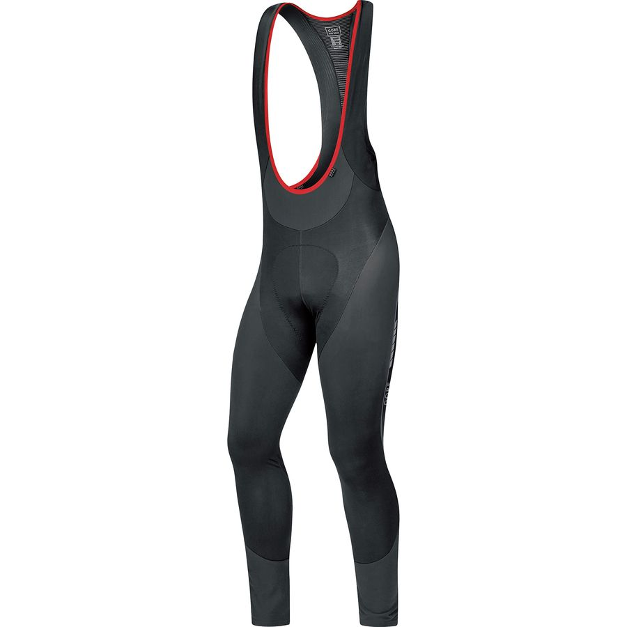 Gore Bike Wear Oxygen Partial Thermo Long Bib Tights - Mens