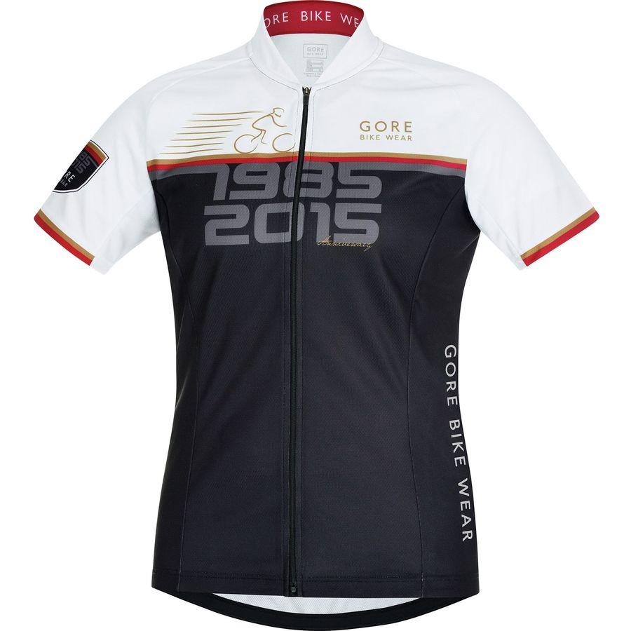 Gore Bike Wear 30th Anniversary Element Print Jersey - Short Sleeve - Womens