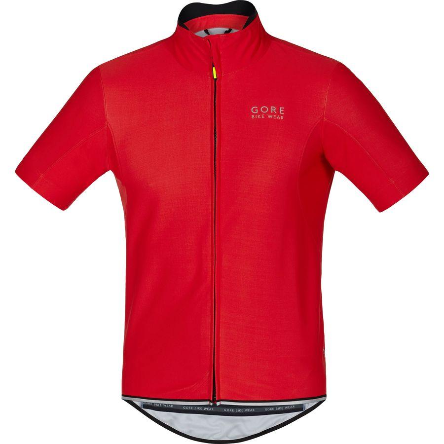 Gore Bike Wear Power WindStopper Softshell Jersey - Short-Sleeve - Mens