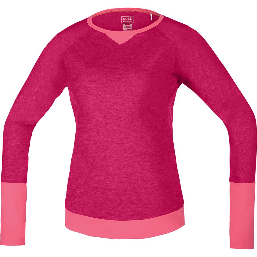 Gore Bike Wear Power Trail Jersey - Long Sleeve - Womens