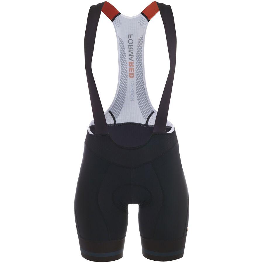 Giordana FormaRed Carbon Bib Shorts with Cirro Insert - Womens