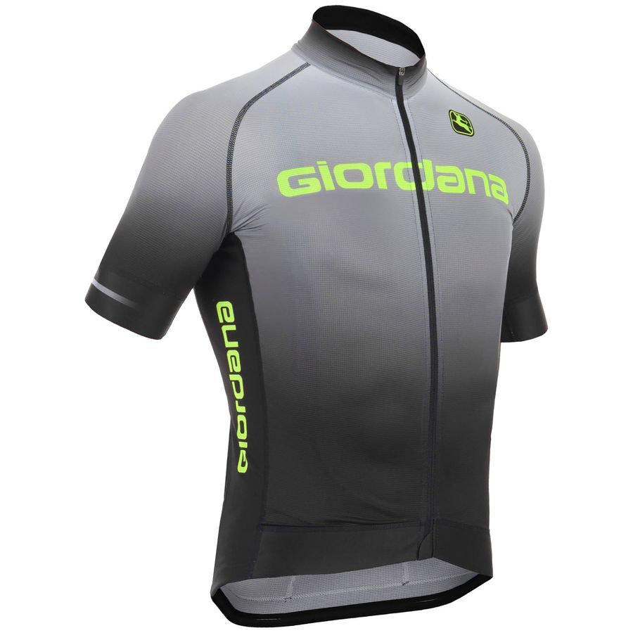 Giordana Trade Glow FormaRed Carbon Jersey - Short-Sleeve - Mens