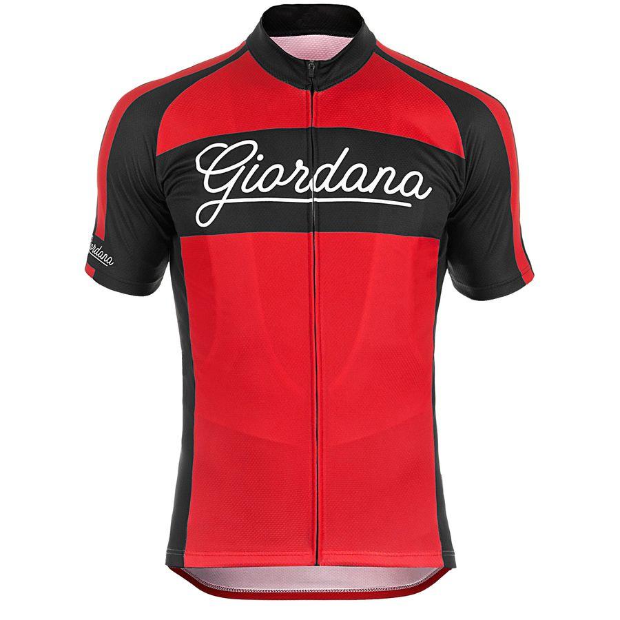 Giordana Endurance Conspiracy Bomber Vero Jersey - Short Sleeve - Mens