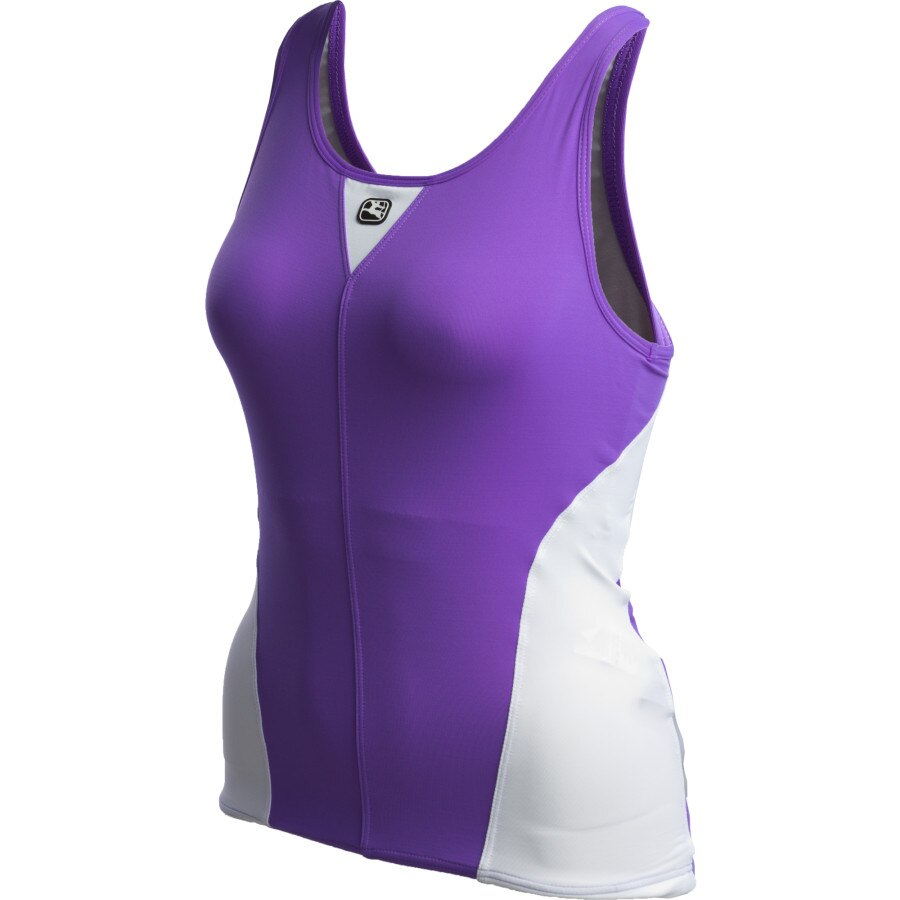 Giordana Silverline Tank Top with 360 Shelf Bra - Womens