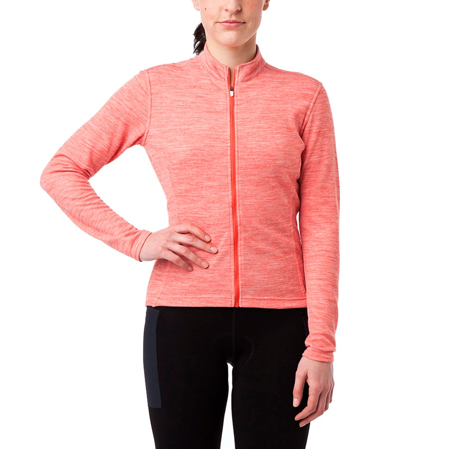 Giro Ride Full-Zip Jersey - Long Sleeve - Womens