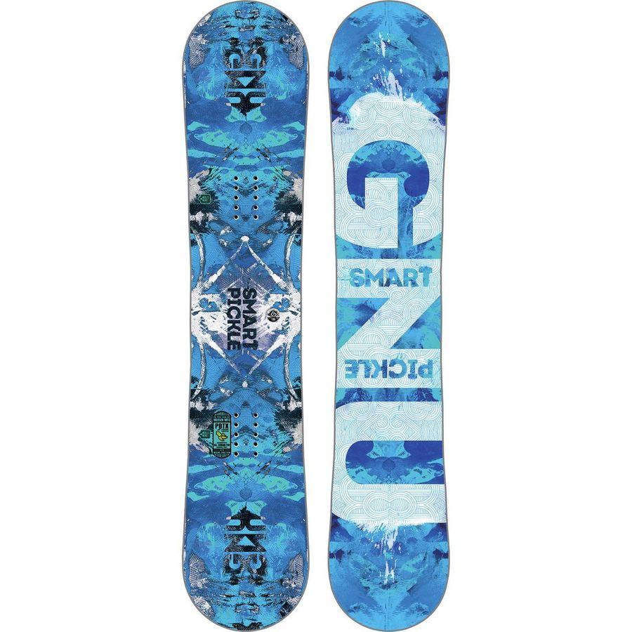 Gnu Smart Mini Pickle PBTX Snowboard - Kids'