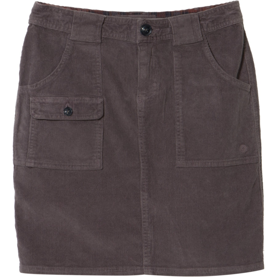 gramicci zoey stretch corduroy mini skirt s