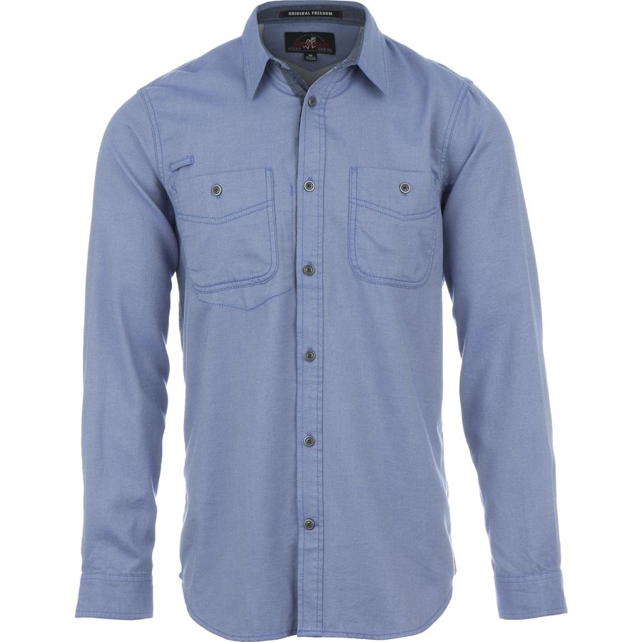 Gramicci Twill Flannel Shirt - Long-Sleeve - Mens