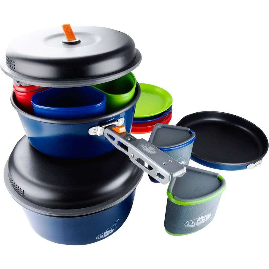 Gsi outdoors bugaboo camper cookset for Gsi kitchen set