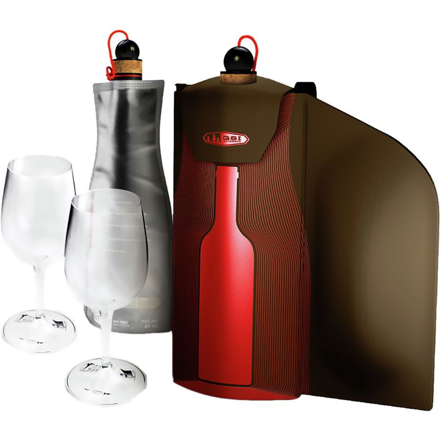 Gsi outdoors wine glass gift set backcountry