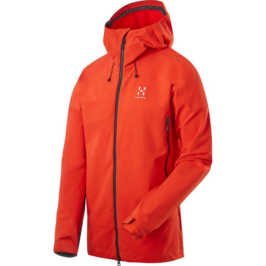 hagl fs skarn hooded winter softshell jacket men 39 s. Black Bedroom Furniture Sets. Home Design Ideas