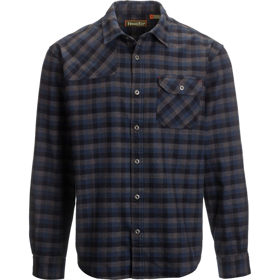 Howler Bros Harkers Flannel Shirt - Long-Sleeve - Mens