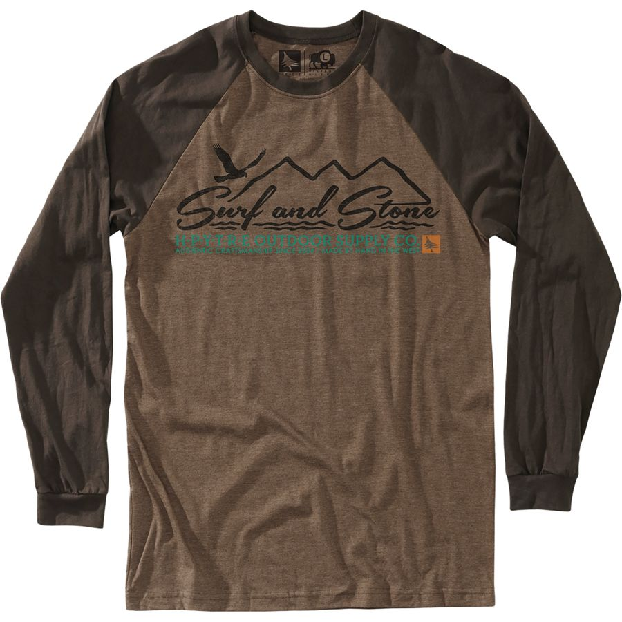 Hippy Tree Baldy T-Shirt - Long-Sleeve - Mens