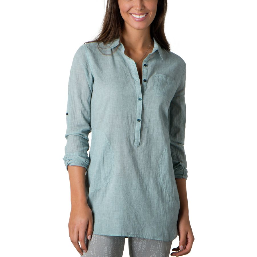 Toad&Co Airbrush Tunic - Long-Sleeve - Womens