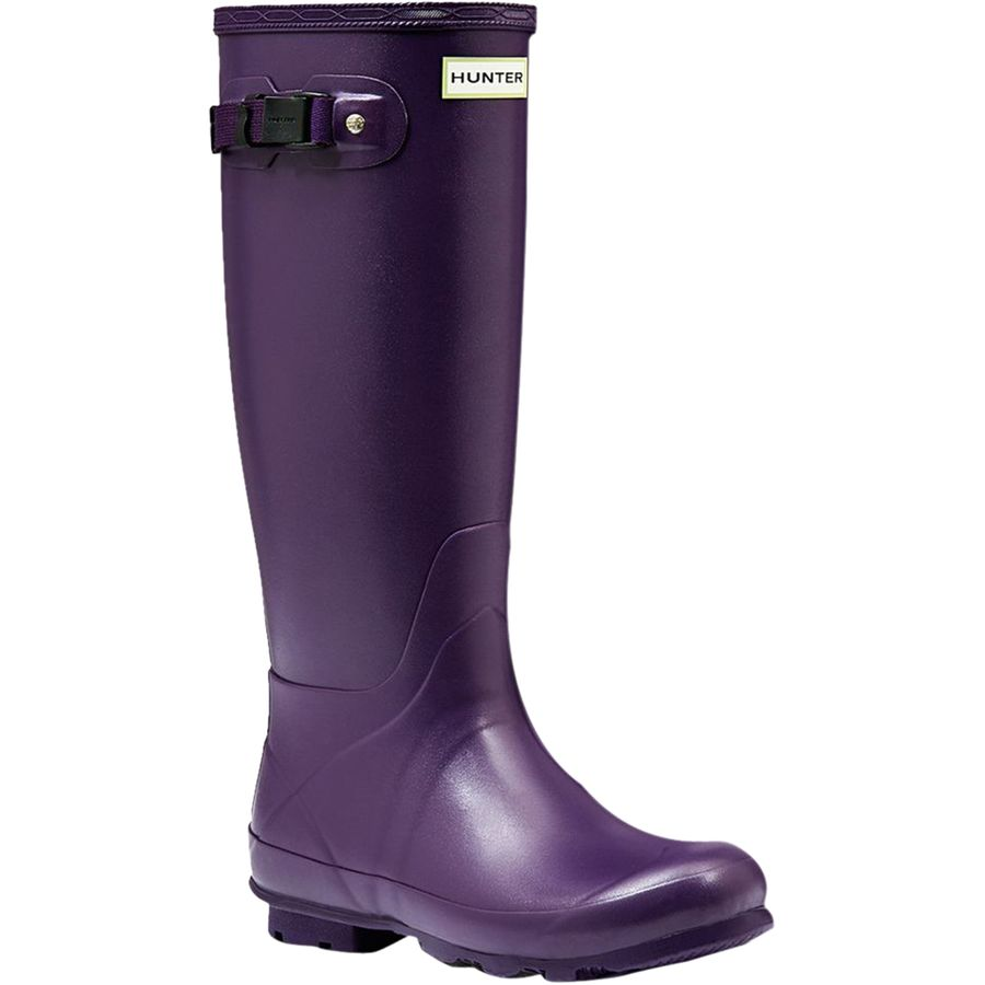 Original Hunter Original Colour Block Dark Ruby Womenu2019s Wellington Boot