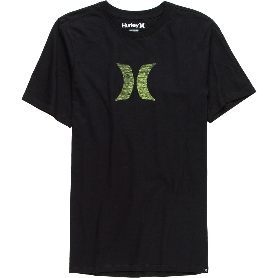 Hurley Icon Push Through Premium T-Shirt - Short-Sleeve - Mens