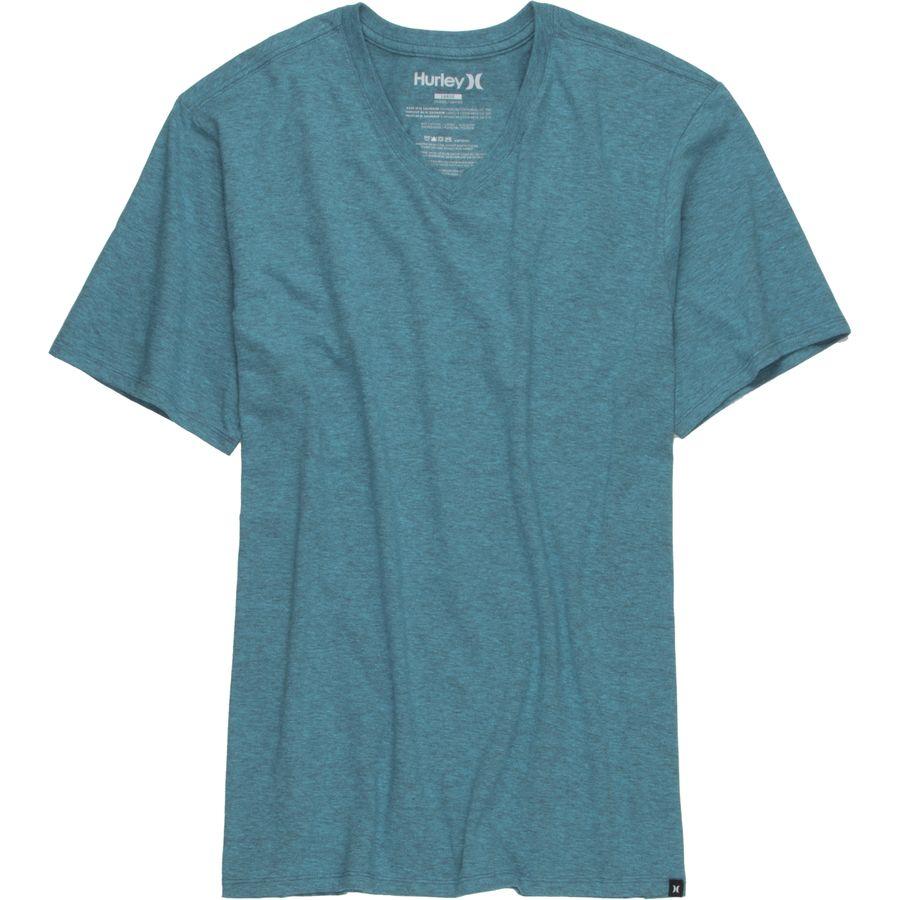 Hurley Staple V-Neck T-Shirt - Short-Sleeve - Mens