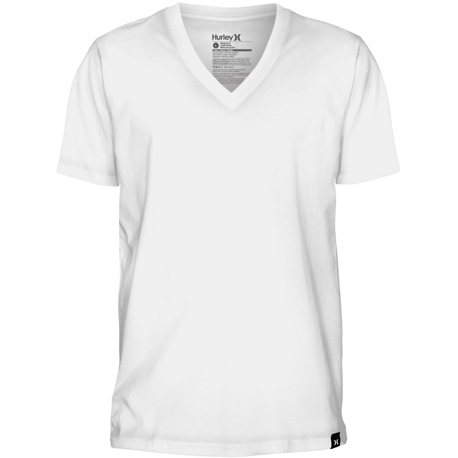 how to wear a v neck t shirt