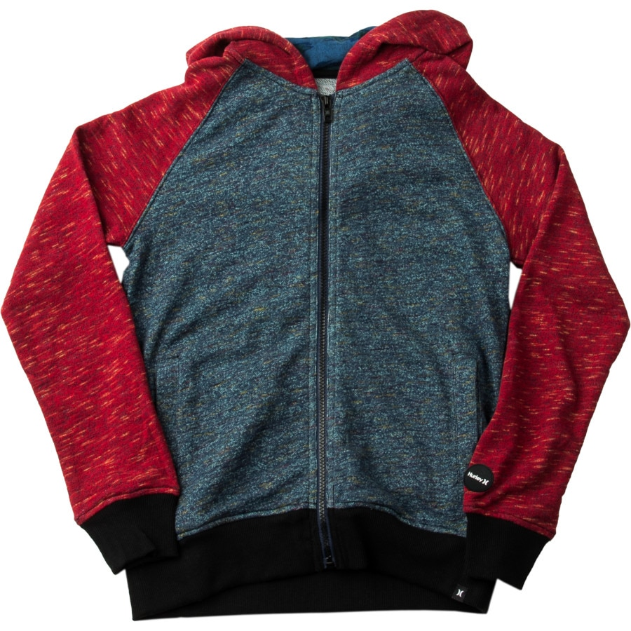 Hurley Flammo Slide Full-Zip Hoodie - Boys' | Backcountry.com