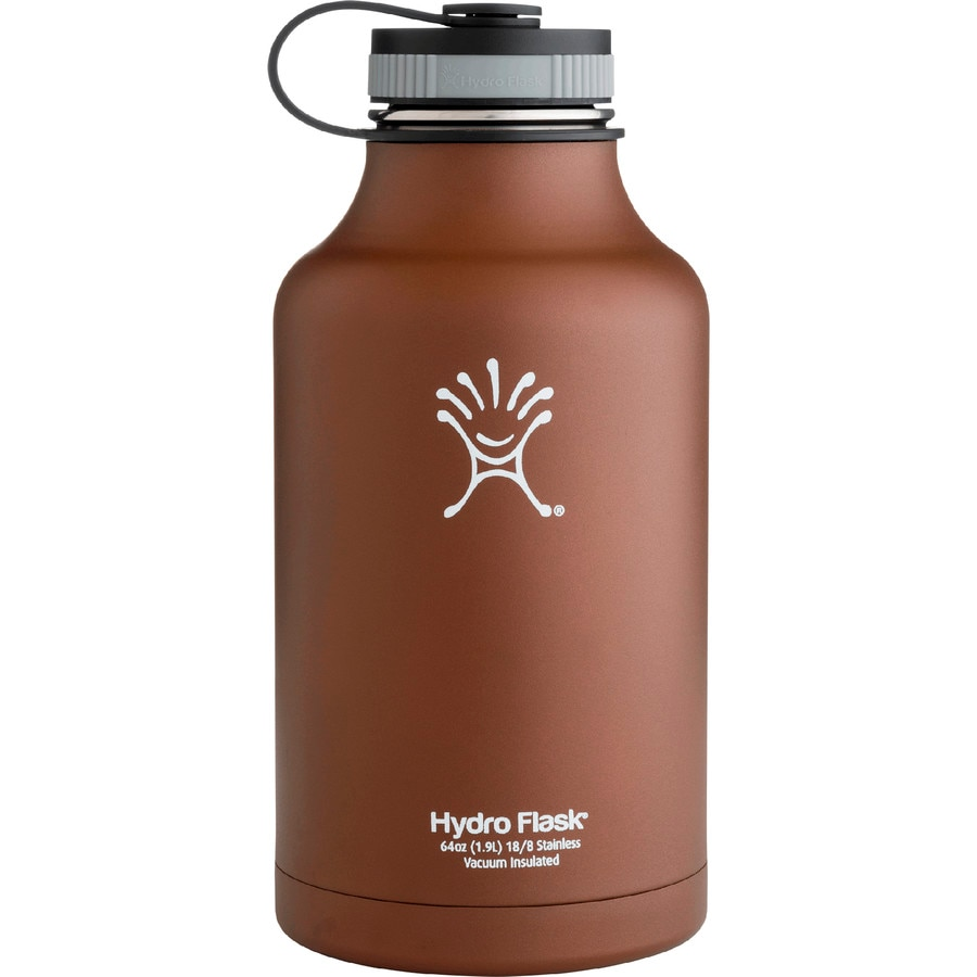 Hydro Flask 64oz Wide-Mouth Water Bottle (Growler)