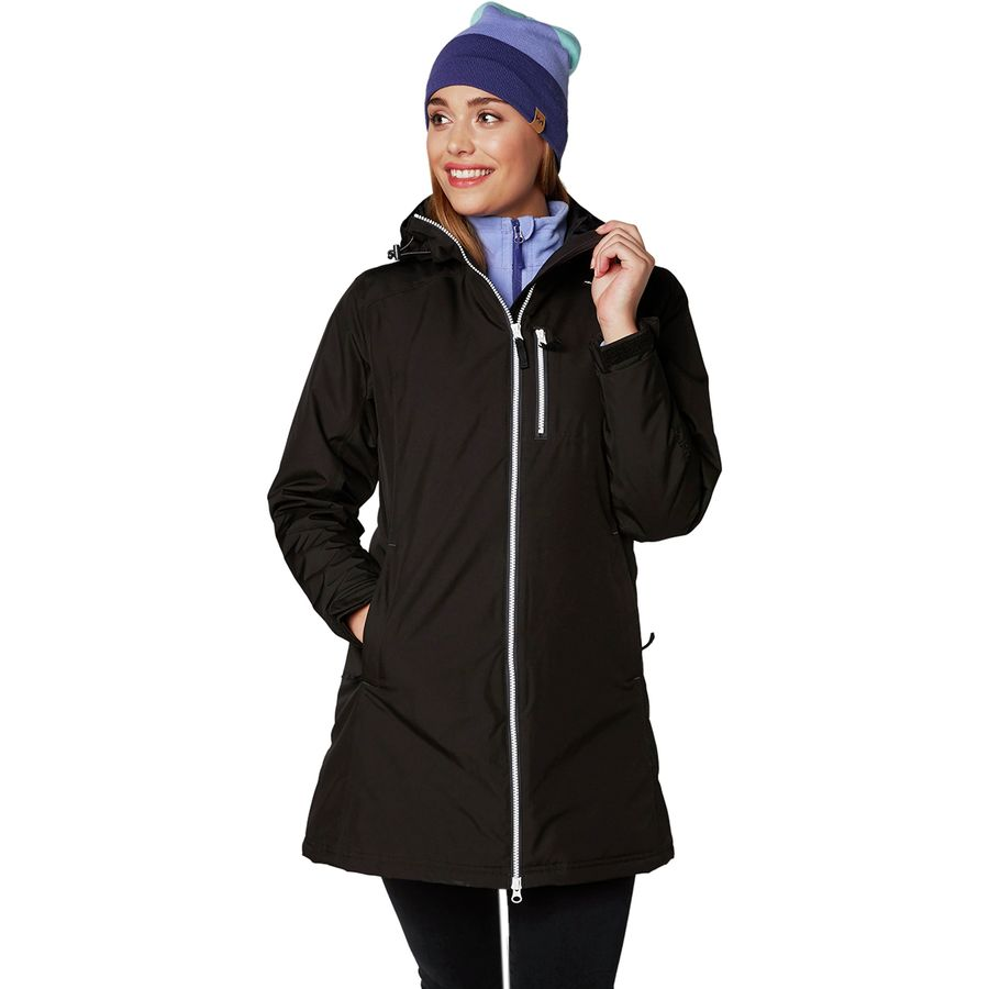helly hansen long belfast winter insulated jacket women 39 s. Black Bedroom Furniture Sets. Home Design Ideas