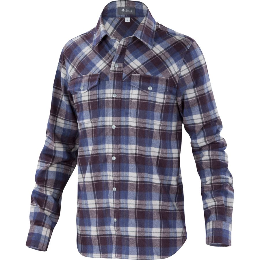 Ibex taos plaid shirt men 39 s for Men s lightweight flannel shirts