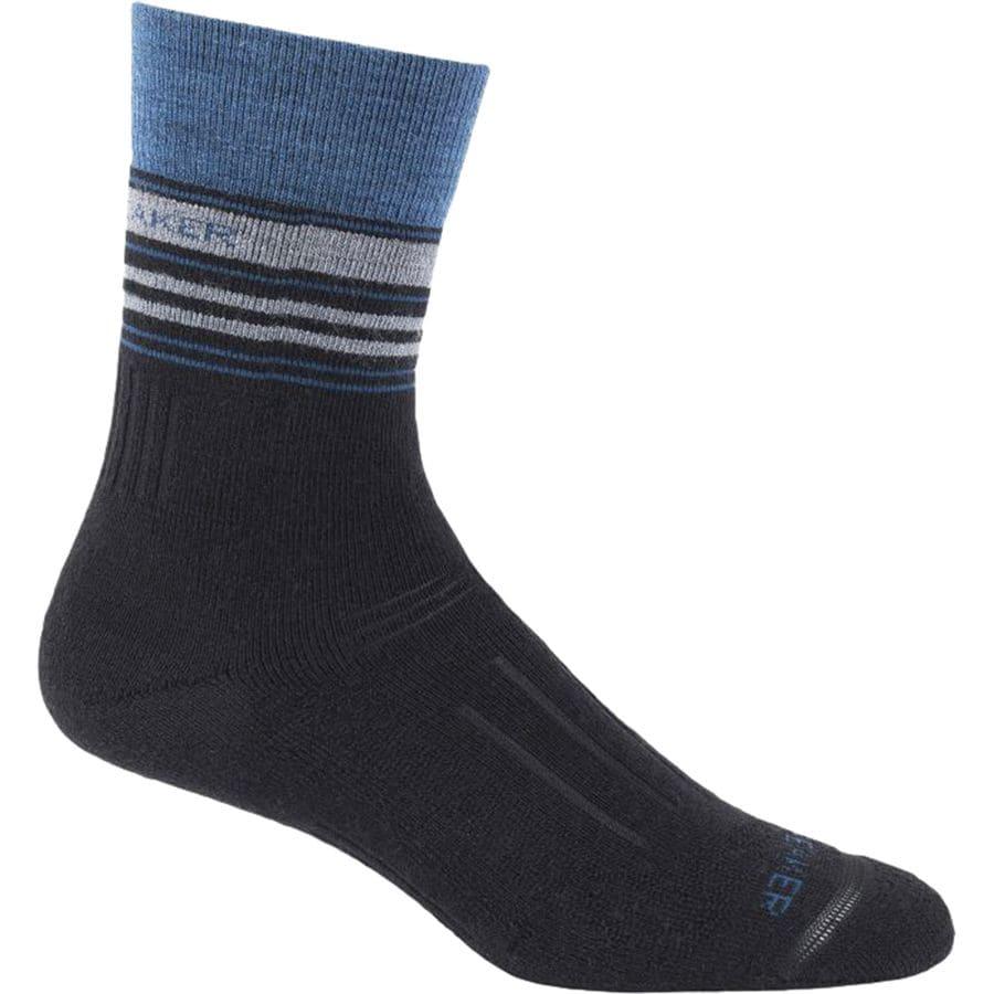 Icebreaker Hike Mid Crew Sock - Mens