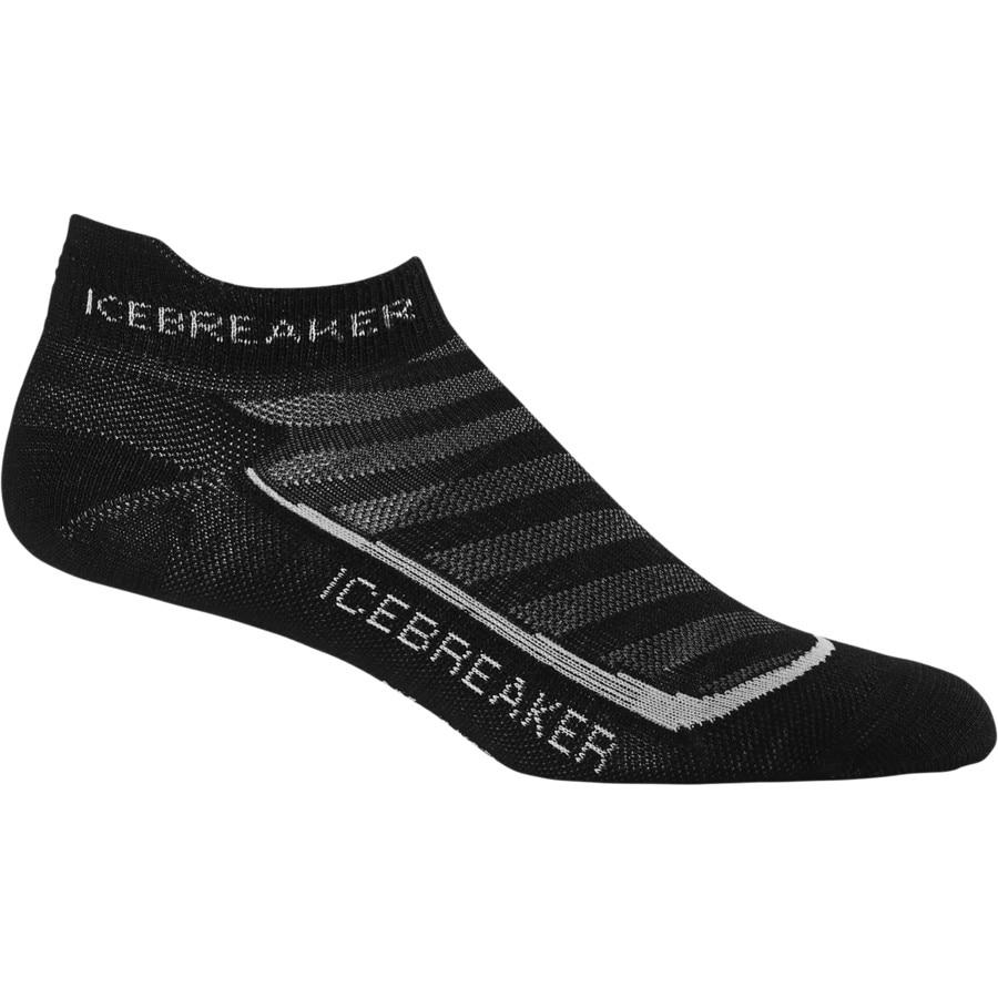 Icebreaker Run Plus Ultra Light Anatomical Micro Sock - Womens