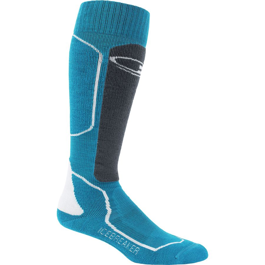 Icebreaker Ski+ Medium Anatomical Over The Calf Sock - Mens