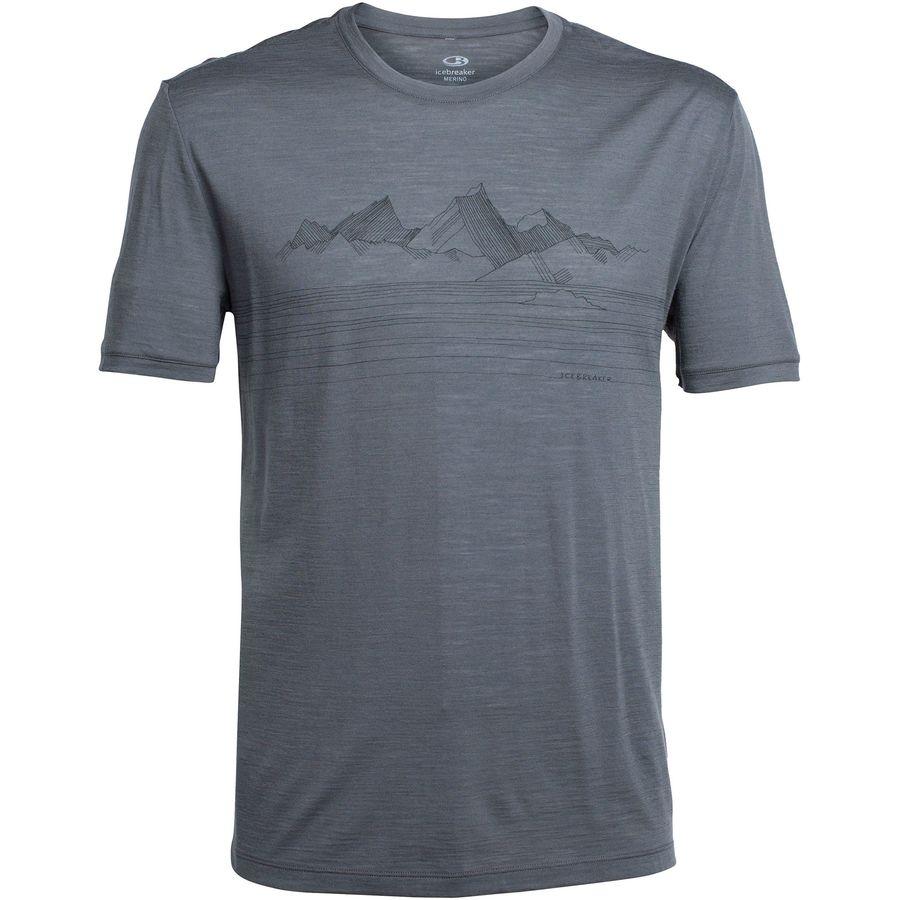 Icebreaker Tech Lite Approach Crew Shirt - Short-Sleeve - Mens