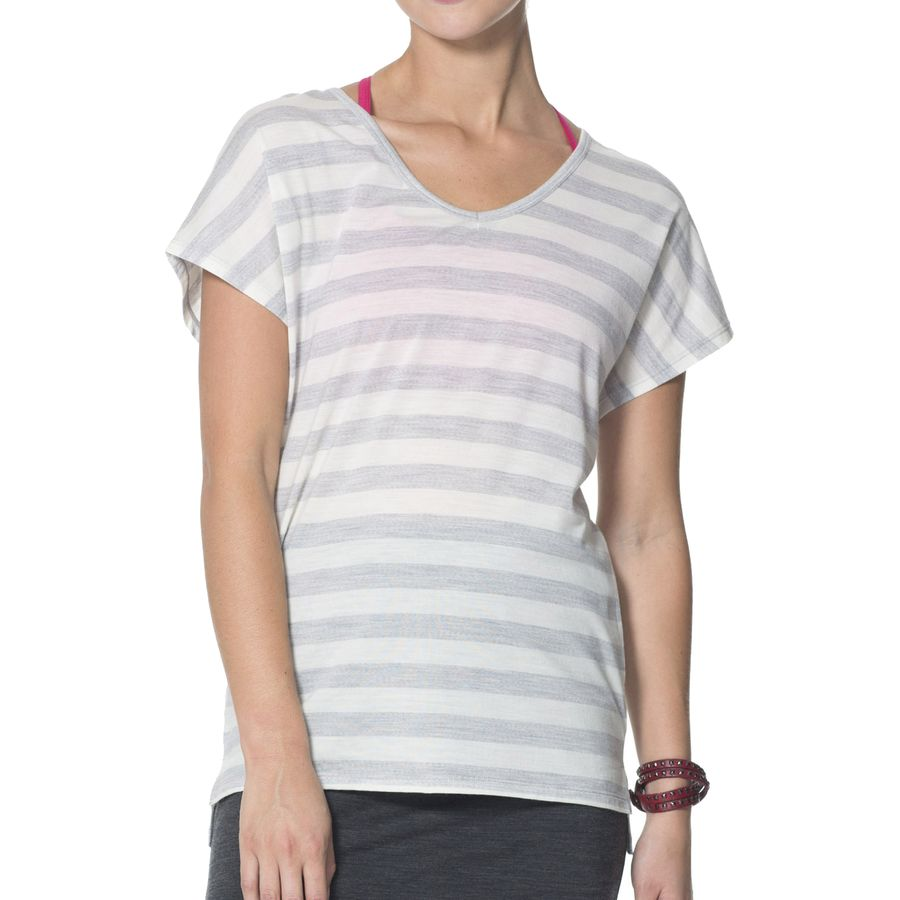 Icebreaker Aria T-Shirt - Short-Sleeve - Womens