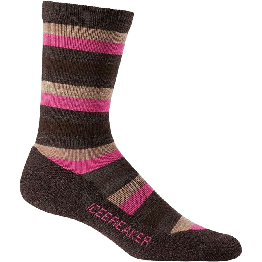 Icebreaker Lifestyle Light Crew Sock - Womens
