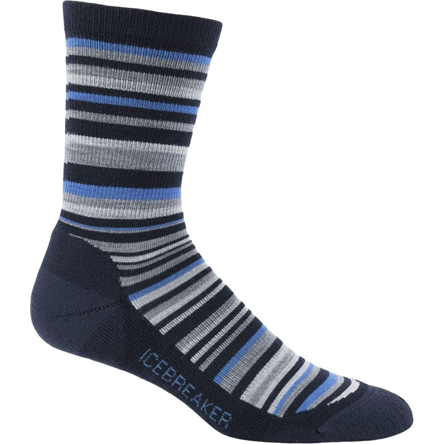 Icebreaker Lifestyle Light Crew Sock - Mens