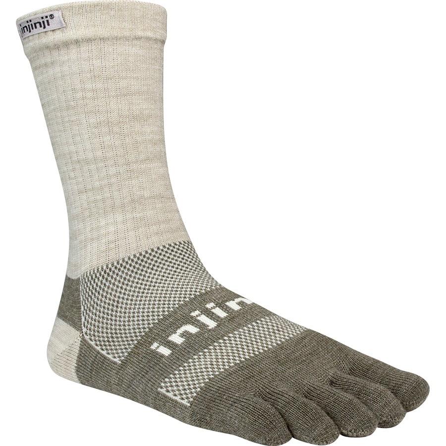 Injinji Outdoor Original Weight Nuwool Crew Socks
