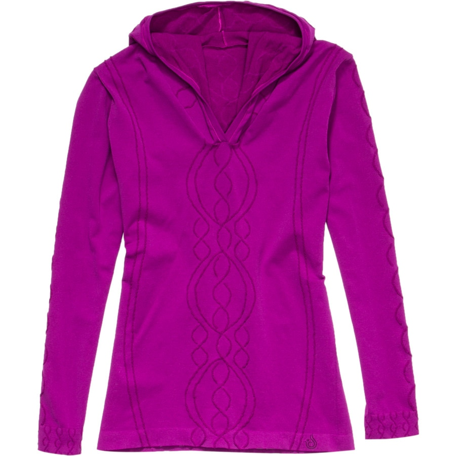 Isis Cable Seamless Hoodie - Women's | Backcountry.com