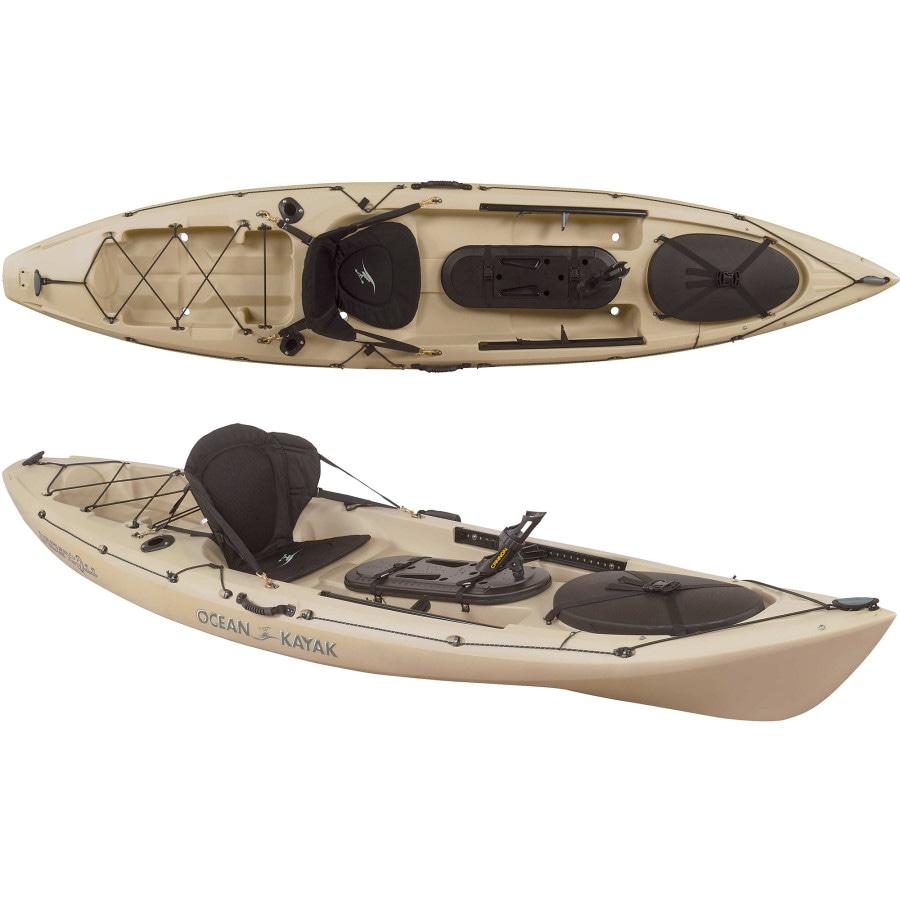 Ocean kayak trident 11 angler kayak sit on top for Used fishing kayak sale