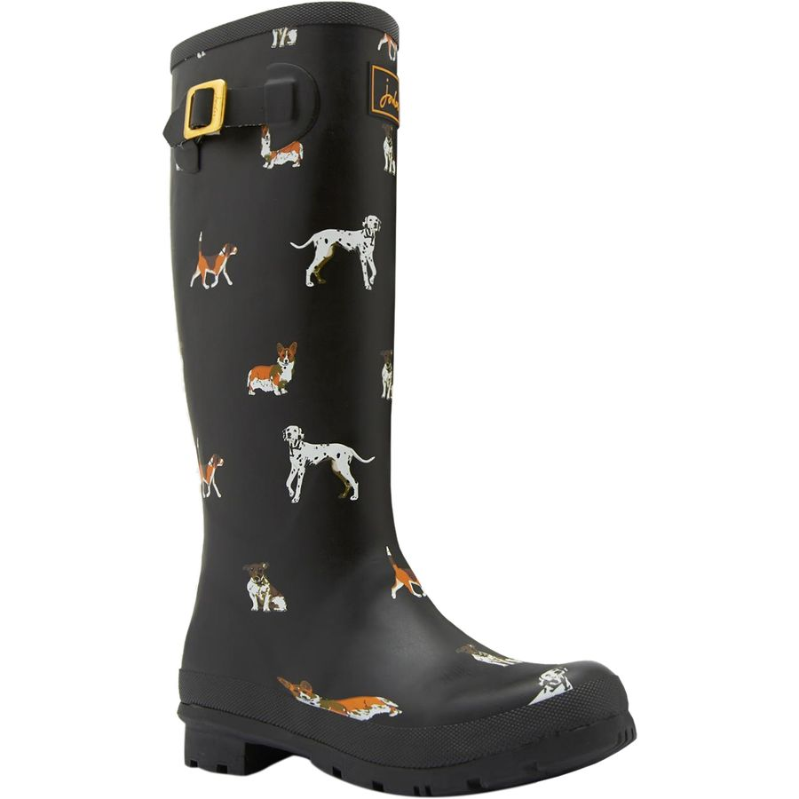 joules welly print boot