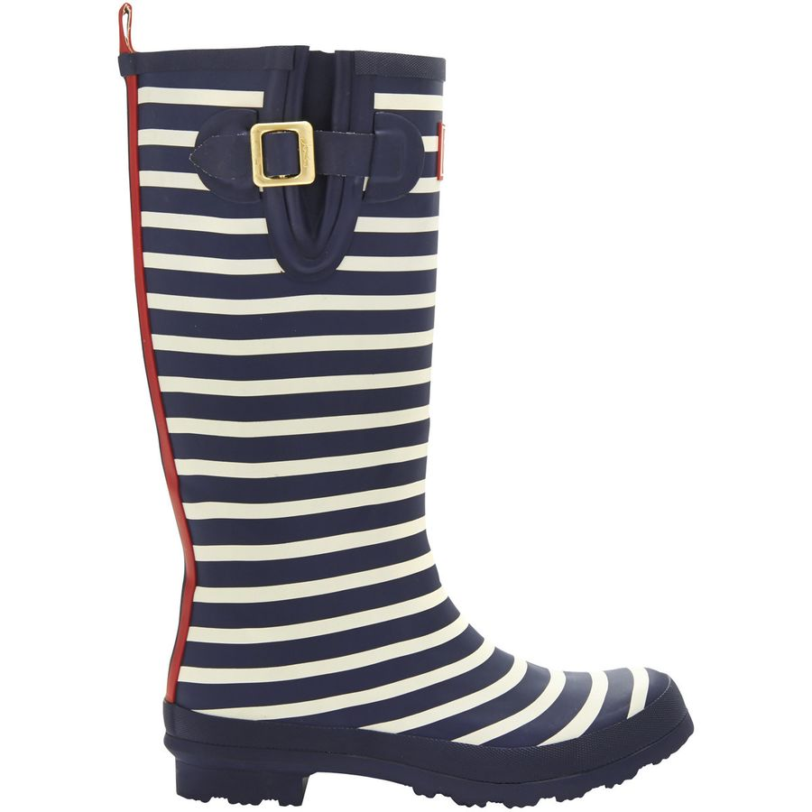 Joules Welly Print Boot - Womens