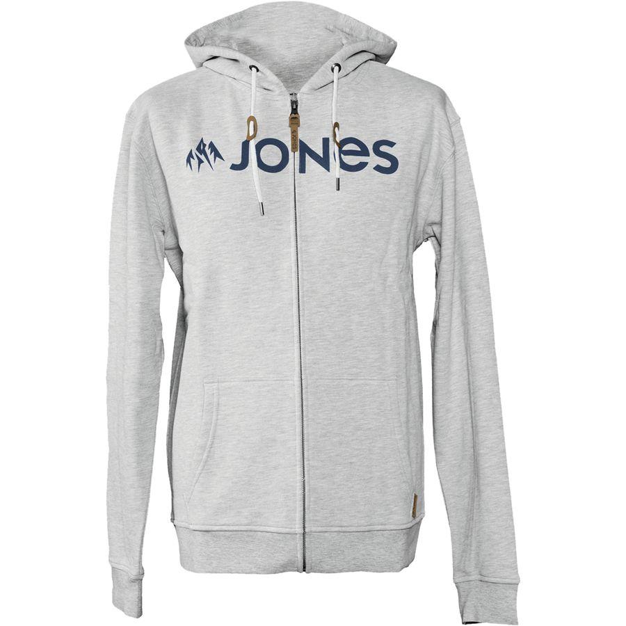 Jones Snowboards Basic Full-Zip Hoodie - Men's