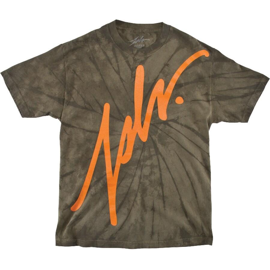 Jslv Premium Tie Dye T Shirt Short Sleeve Men 39 S