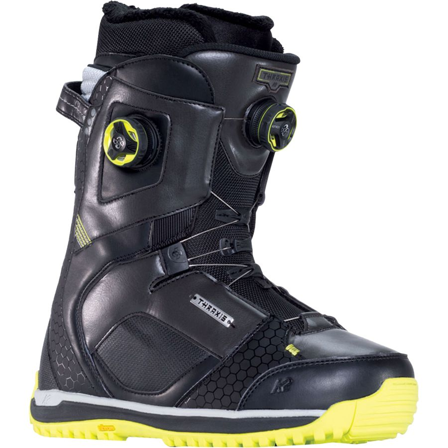 k2 snowboards thraxis boa snowboard boot men 39 s. Black Bedroom Furniture Sets. Home Design Ideas