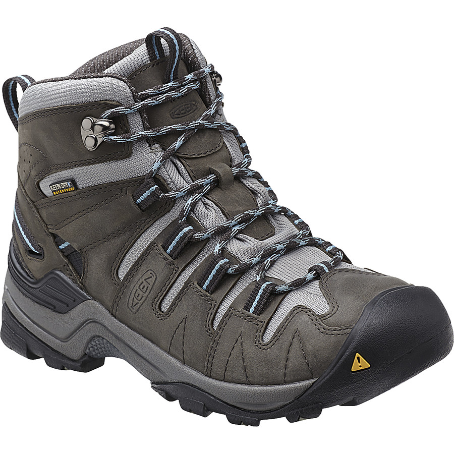 Original Womenu2019s Keen Gypsum Mid Hiking Boots - Waterproof Nubuck US 5 Medium NIB | EBay