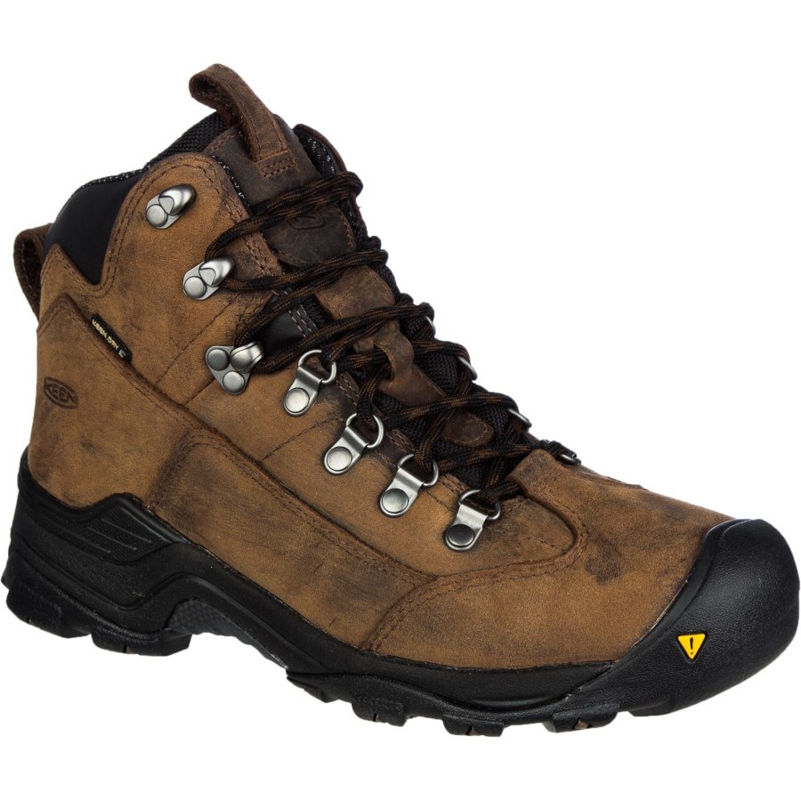 Excellent KEEN Womens Revel III Racing Red/Eggshell Waterproof Nubuck Leather Hiking Boot - Women From ...