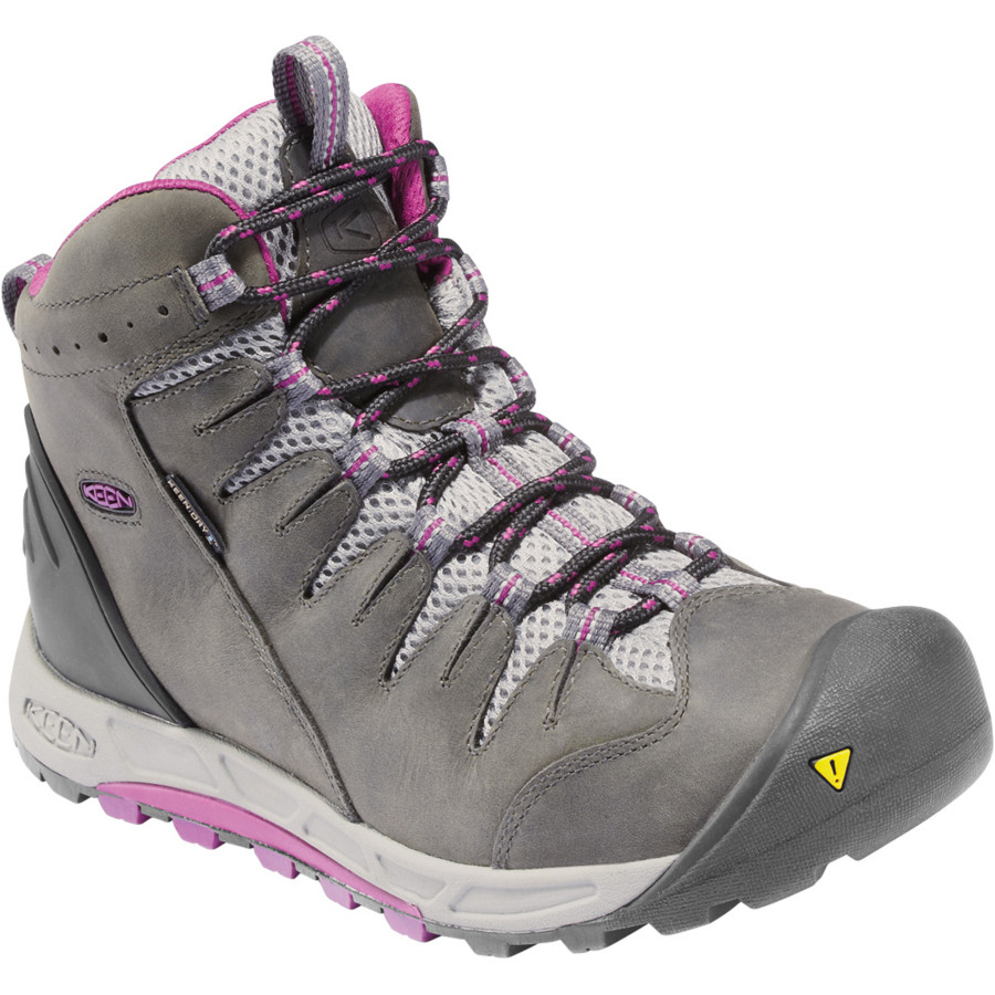 Fantastic KEEN Womenu0026#39;s Saltzman Waterproof Mid Hiking Boots