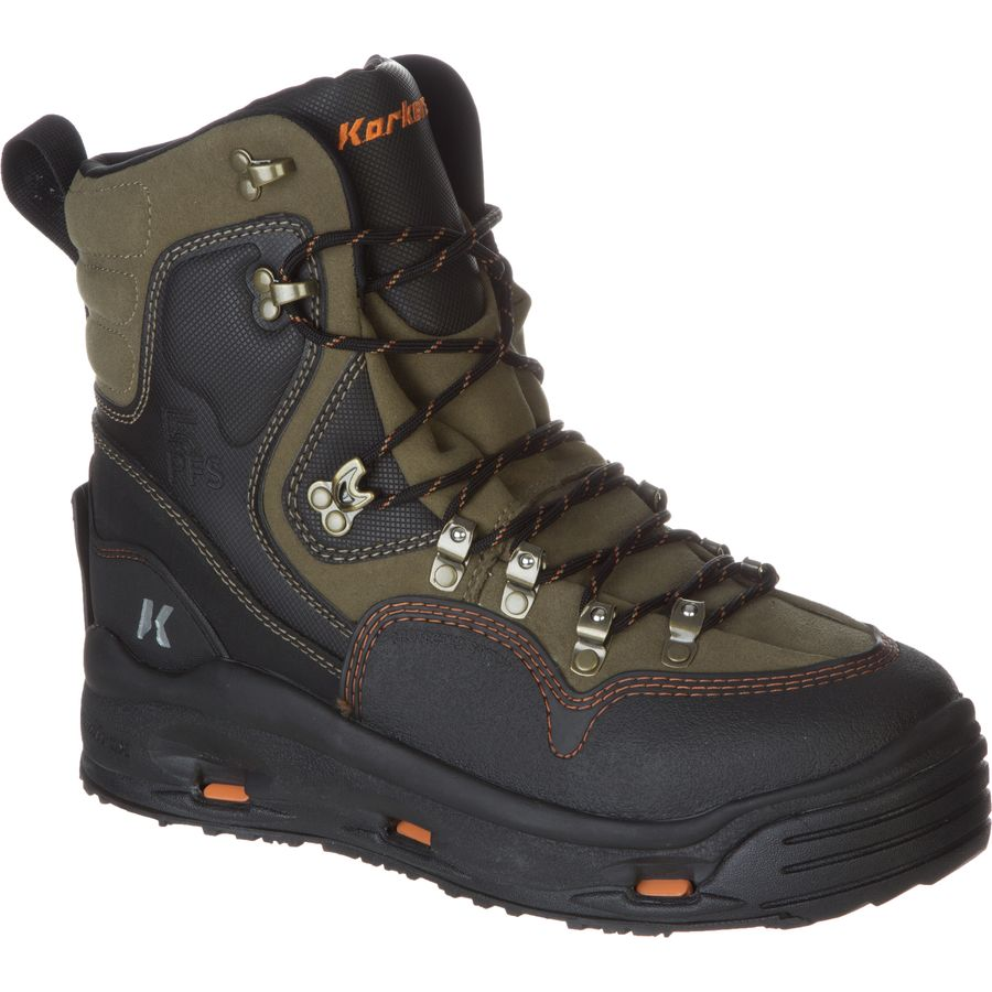 Korkers k 5 bomber wading boot men 39 s for Fly fishing wading boots