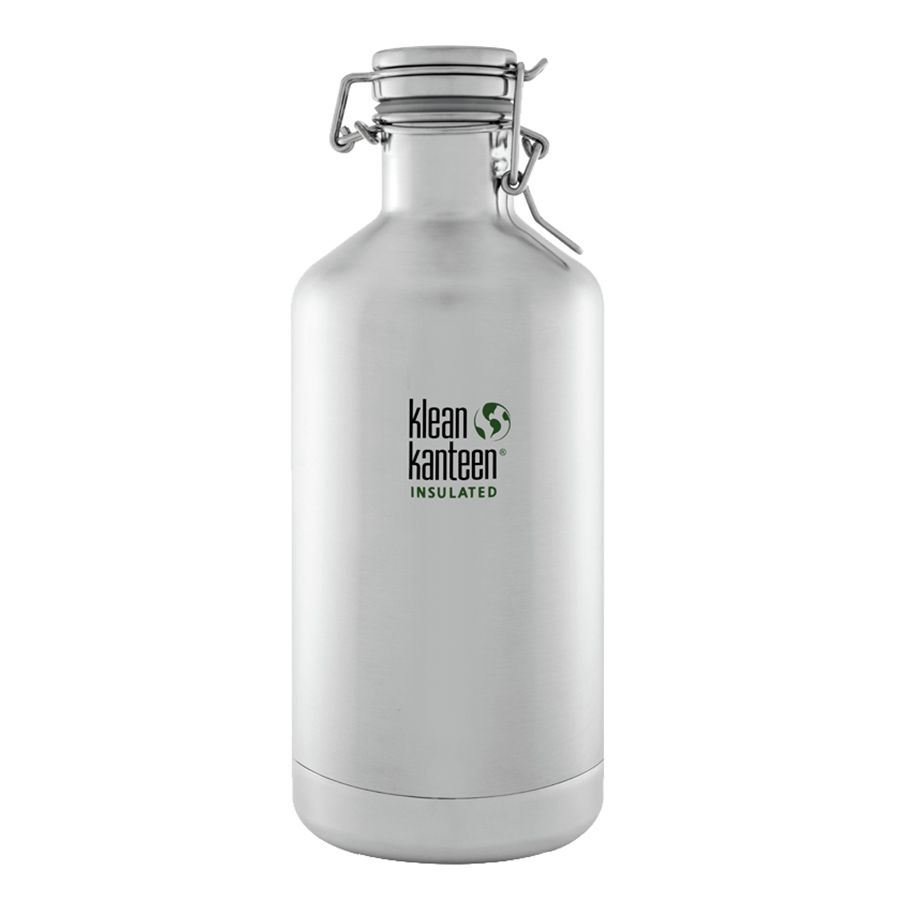 Klean Kanteen 64oz. Vacuum Insulated Water Bottle with Swing Lok Cap