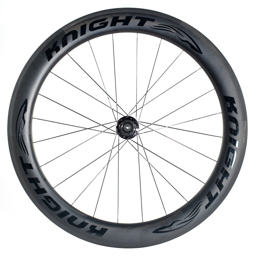 Knight 65 Carbon Fibre/Aivee SR5 Road Wheelset - Clincher