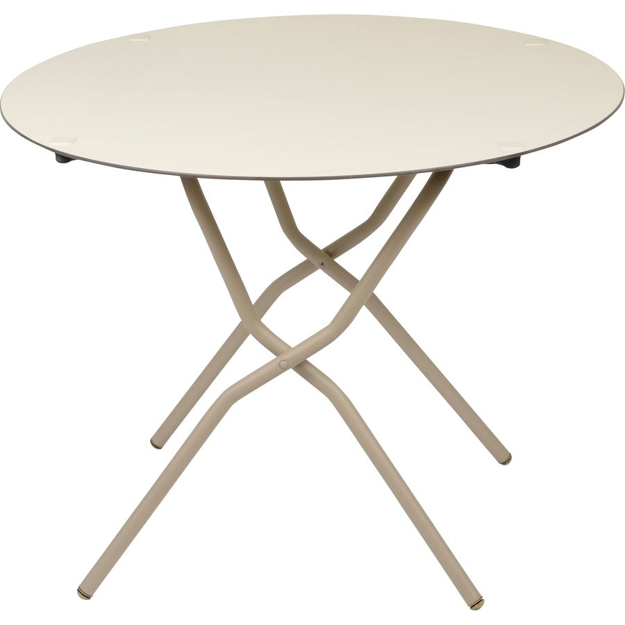 Lafuma Anytime Round Folding Table Up To 70 Off Steep