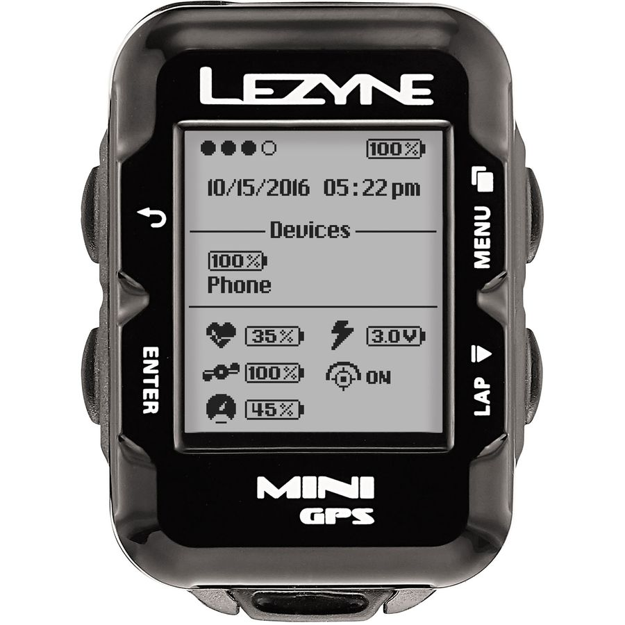 Lezyne Mini GPS HR Loaded Bike Computer